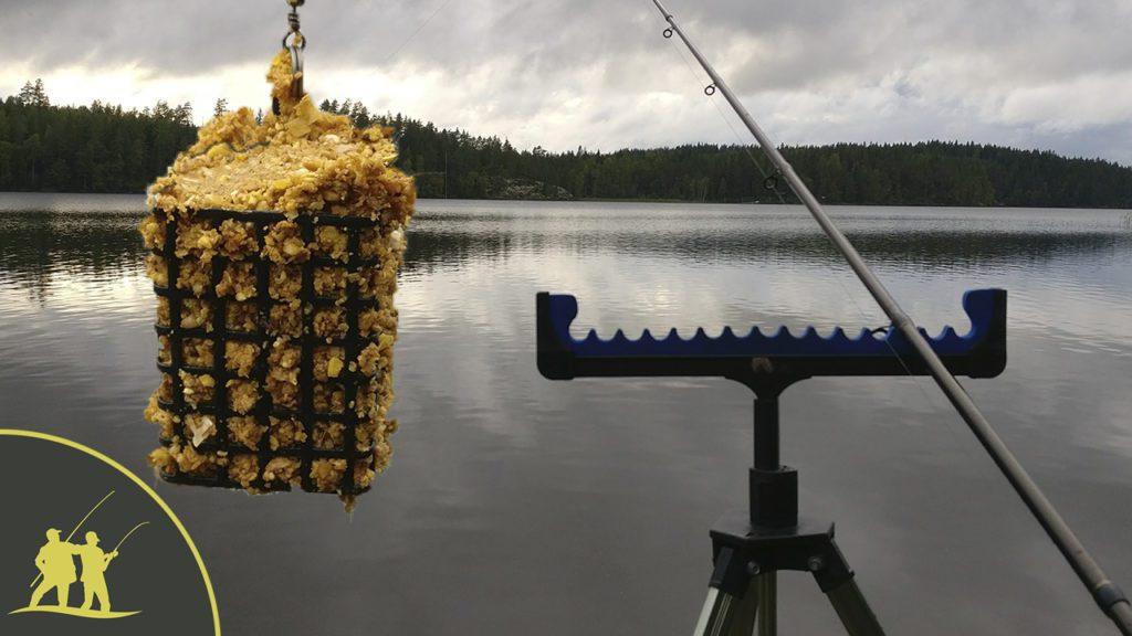 Рыбалка на фидер на озере 2 серия
