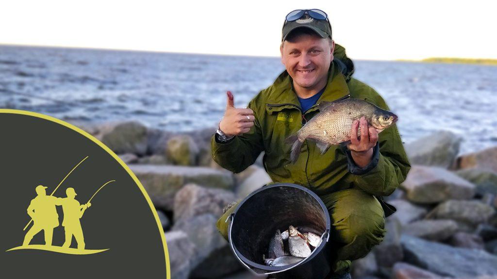 Рыбалка на фидер на северной дамбе финского залива