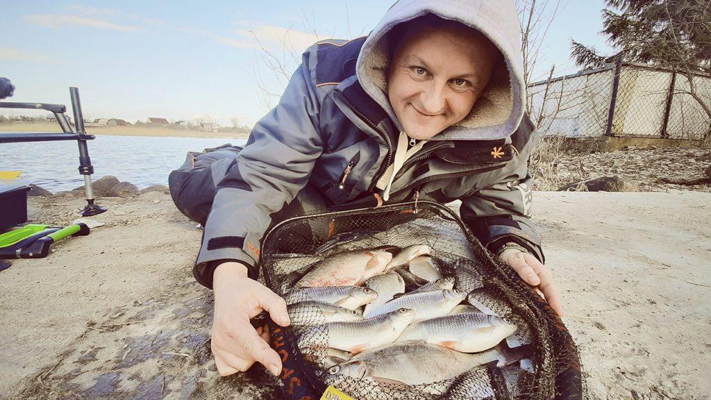 Рыбалка на фидер на Волхове