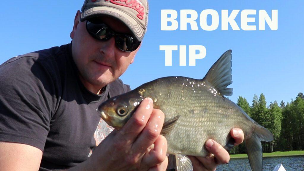 рыбалка на бортовую удочку broken tip